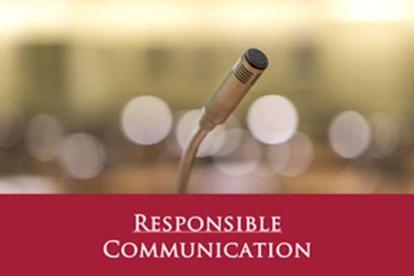 Responsible Communication des WEIT